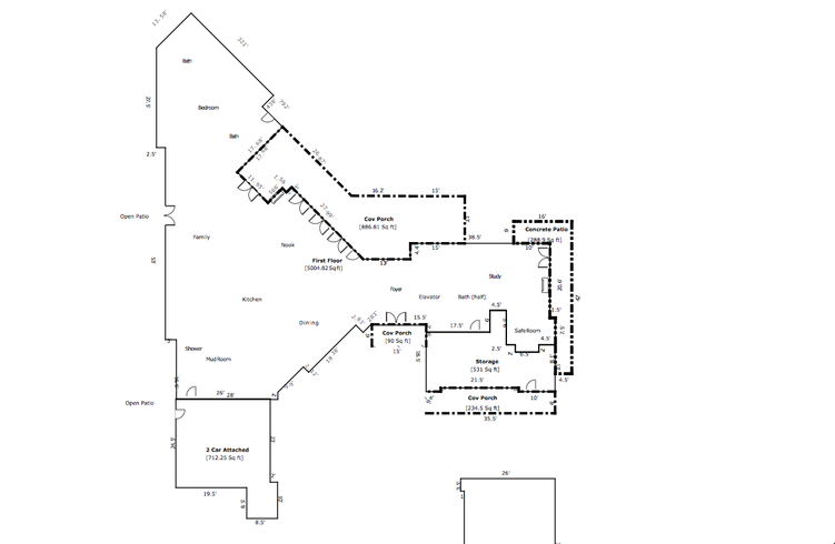 How To Determine Square Feet Of A House House Plan 2017